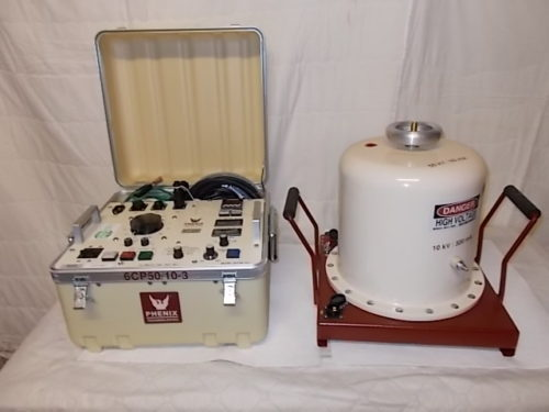 HIGH VOLTAGE EQUIPMENT 120KV AC HIPOT – PHENIX TECHNOLOGIES 6CP120/60-10