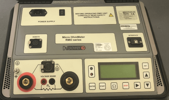 Contact Resistance Tester - DV Power RMO 200G