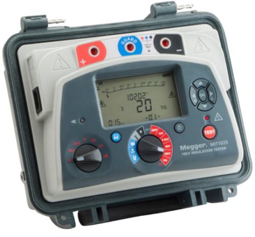Insulation Resistance Tester - Megger MIT 1025- TC- 10kV