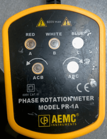 PHASE ROTATION METERS PR-1A