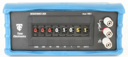 Time Electronics 1051 – Decade Resistance Box