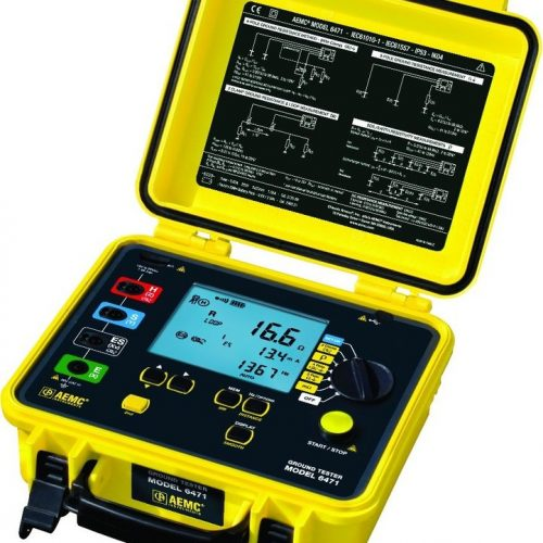 PORTABLE EARTH TESTER AEMC 6471