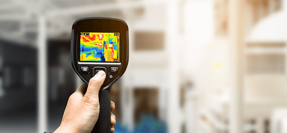 VISUAL INSPECTION THERMOGRAPHICS FLIR E75 THERMO CAMERA