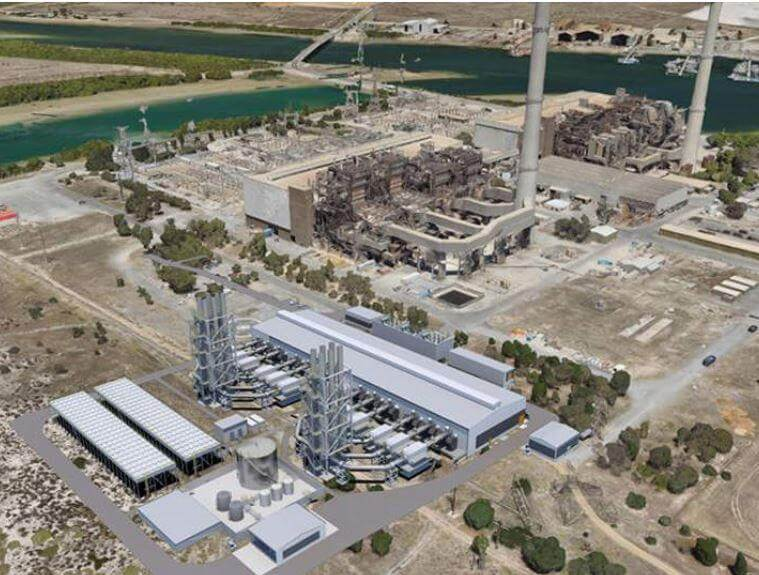 Testing and Commissioning - Barker Inlet power station